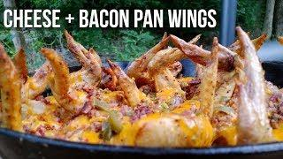 Chicken Cheese n Bacon Pan Wings