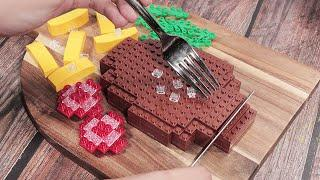 Eating Lego Beef Steak In Real Life #9 | Stop Motion Cooking & ASMR Funny Video 4K