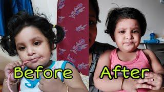 Ajke Dolu haircut Korlo | Baby Haircut | My Daughter Haircut