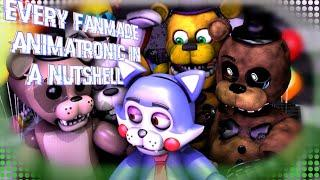 EVERY FNaF Fanmade ANIMATRONIC IN A NUTSHELL