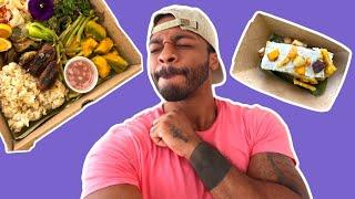 I Tried Vegan Filipino Food! Ube Life