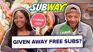 Subway Employees Play Never Have I Ever