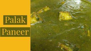 Palak Paneer Recipe in Tamil /  Gravy for Chapathi in Tamil