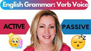 Active and Passive Voice of Verbs | English Grammar Lesson