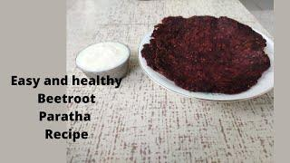 Easy and Healthy Beetroot paratha recipe. Breakfast Recipe. syed's Official