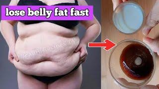 Just 2 cups, How I remove Belly Fat Fast In 3 days, No Strict No Workout Weight Loss Drink