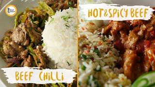 Restaurant style Beef Chilli & Hot & Spicy Beef Recipes By Food Fusion