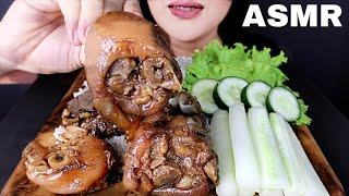 ASMR PORK ADOBO, CUCUMBER & LETTUCE *FILIPINO FOOD* (NO TALKING EATING SOUNDS) | MINA ASMR