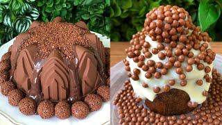 Best Chocolate Desserts ! Yummy Chocolate Cake Decorating Ideas..  Chocolate Compilation