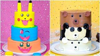 Awesome Rainbow Chocolate Cake Decorating Ideas | So Yummy Cake Tutorials | Easy Cake Hacks