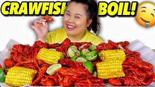 GIANT SEAFOOD BOIL CRAWFISH MUKBANG 먹방 EATING SHOW!