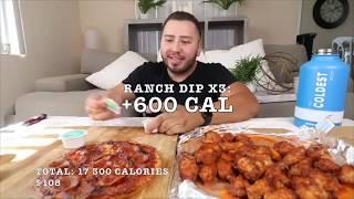Calorie Count - 3 Months of Stephen Sushi's Dominos Intake (PART 1)