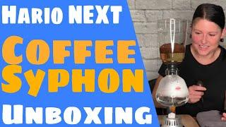 Hario Coffee Syphon Unboxing, First Use and Chat About Motivation / Accountability