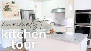 Organized Kitchen Tour | Minimalist Kitchen! 3 kitchen Organization ideas !