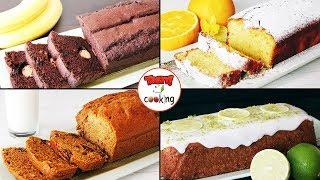 LOAF CAKES ☆ 4 WAYS ☆ POUND CAKE ☆ Tasty Cooking Recipes