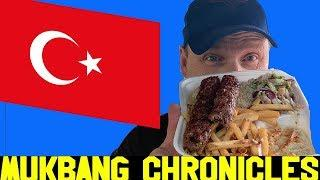 First Time Eating Authentic TURKISH FOOD *MUKBANG, Food Experience!