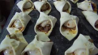 Egg Puff Making Recipe | Easy Recipe For Party | Party Snacks