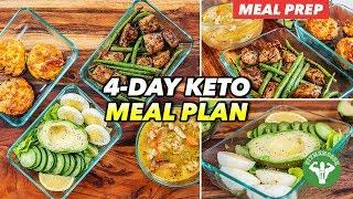 4-Day Keto Meal Plan for Winter 2020