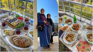 What Turkish Family Eats? FOOD VLOG - Three-day Stay At My Mom In Istanbul