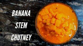 Banana stem curry | How to make Bale Dindu curry ? | Mom's recipe by Food & Travel Diaries