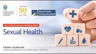JCU Health Professionals Webinar Series Ep 4 - Sexual Health