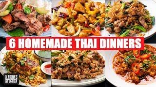 6 Thai Dinners You Can Make At Home | Quarantine Cooking | #StayHome #WithMe | Marion's Kitchen