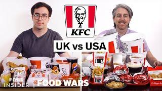 US vs UK KFC | Food Wars