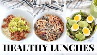 EASY HEALTHY LUNCH RECIPES: tasty, quick, meal prep friendly!