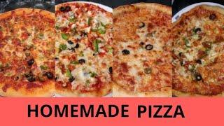Homemade Pizza Recipe in Urdu - Family Dinner- Party Food