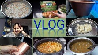 Pink dosa|home made panner|old pot turn in to new look|soya chunks pulav |