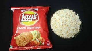 1 Minute Easy & Tasty Evening Snack Recipe With Lays & Murmura Recipe | Simple Quick Lays snacks