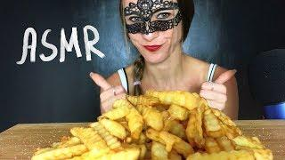 ASMR CHEESY FRENCH FRIES WITH CHEDDAR CHEESE MUKBANG (Eating Sounds) NO TALKING
