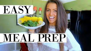 HOW I MEAL PREP A FULL DAY OF EATING IN UNDER 4 MINUTES | EASY, HEALTHY, VEGAN