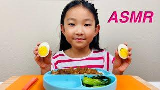 [ASMR FOOD] EatingTaiwanese Braised Pork over Rice (EATING SOUNDS) | NO TALKING | KIDS MUKBANG