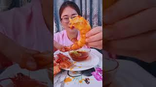 #Shots Video Seafood mukbang ASMR | Asian Food ASMR | ASMR  Show Eating by #VshareKH #123