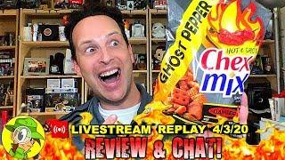 Chex Mix™ | HOT & SPICY | GHOST PEPPER Review