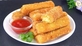 Crispy Eggplant Fingers/Fried Eggplant sticks Recipe by Tiffin Box | Brinjal Fry,Easy Snacks Recipe