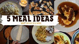 5 FAMILY MEAL IDEAS - WHAT WE EAT IN A WEEK - MEAL PLANNING