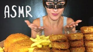 ASMR FRIED FOOD (Chicken Nuggets, French Fries & Italian Sofficini) Eating Sounds MUKBANG NO TALKING