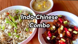 Indo-Chinese Combo Lunch | Tasty & Easy Lunch Recipes