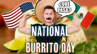 HOW TO MAKE THE BEST SALSA, GUAC AND BURRITO | NATIONAL BURRITO DAY!