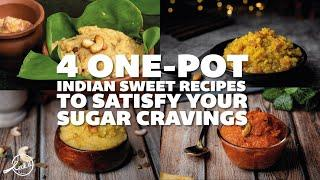 4 One-pot Indian Sweet Recipes to Satisfy Your Sugar Cravings | Indian Sweet Recipes | Cookd