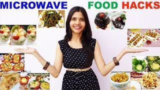 10 Easy Microwave Recipes | Morphy Richards Microwave Food Hacks | 2 minute Oven Recipes | Oven Cake