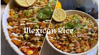Mexican Rice | Spanish Rice |Easy One Pot Meal | Leftover Rice Recipe | Vegetarian Recipe