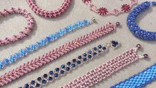 11 Gorgeous Bead Weaving Designs Live Tutorial | Bead Weaving For Beginners | DIY Jewelry Tutorial