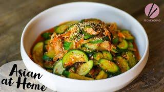 Korean Zucchini Side Dish