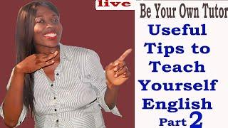 Useful Tips To Teach Yourself English/Free English Speaking Tips