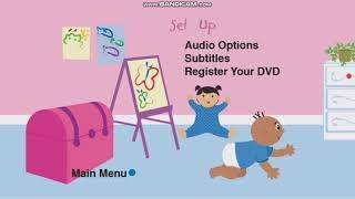 Baby Einstein Baby's First Moves 2009 DVD Menu