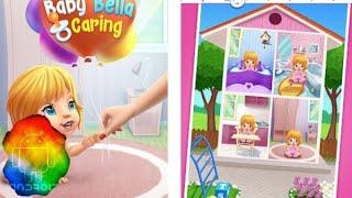 Baby Bella Caring - Android gameplay winkypinky Movie apps free best Top Tv Film Video Game Kids