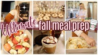 *NEW* ULTIMATE FALL MEAL PREP COOK WITH ME FALL 2020 // TIFFANI BEASTON HOMEMAKING WHAT'S FOR DINNER